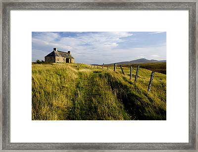 Isolation 2 The Northern Highlands Scotland Framed Print