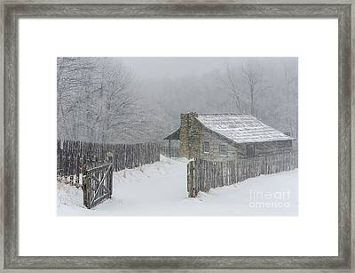 Weathering Framed Print by Anthony Heflin