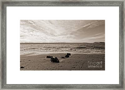 Framed Print featuring the photograph Isolation by Arlene Sundby