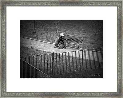 Isolation Framed Print by Brian Wallace
