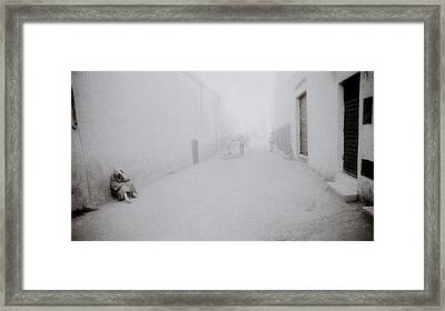 Isolation In Taza Framed Print by Shaun Higson