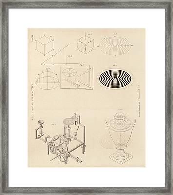Isometric Perspectives Framed Print by King's College London