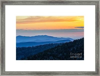 Isoprene Twilight Framed Print