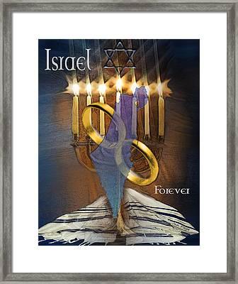 Israel Forever Framed Print by Jennifer Page