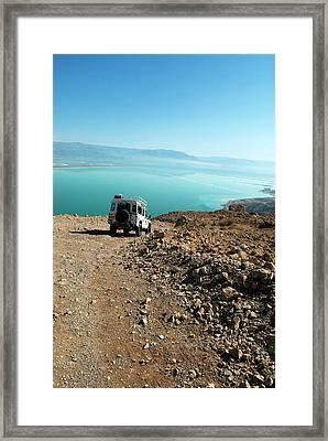 Israel, Judean Desert, Dead Sea Framed Print