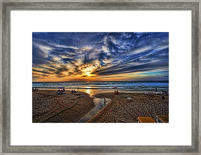 Israel Sweet Child In Time Framed Print by Ron Shoshani