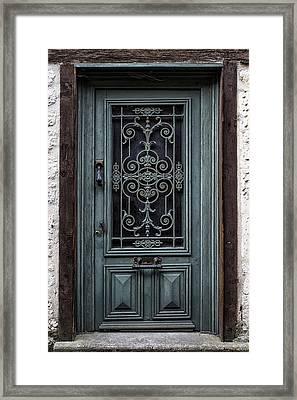 Issigeac Door Framed Print