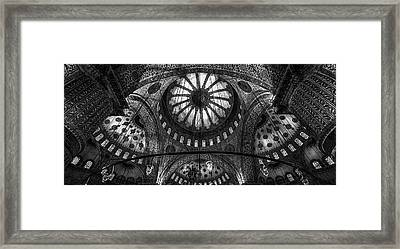 Istanbul - Blue Mosque Framed Print by Michael Jurek