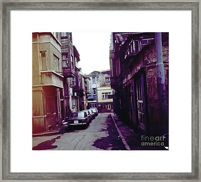 Istanbul Corridor Framed Print by Scott Shaw