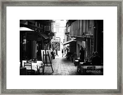 Istanbul Freeze Frame Framed Print by John Rizzuto
