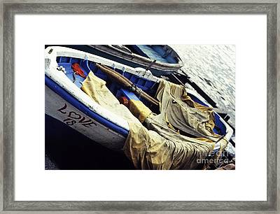 Istanbul Love Is Framed Print by Scott Shaw