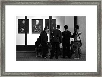 Istanbul Street Scene  Framed Print by Jim Vance