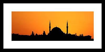 Suleymaniye Framed Prints