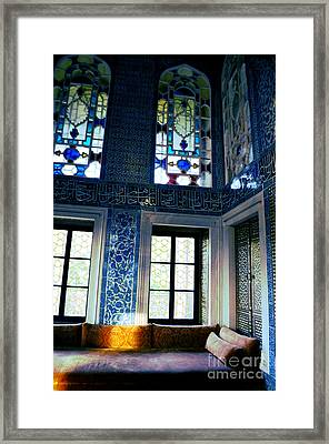 Istanbul - Topkapi Palace Framed Print by Haleh Mahbod