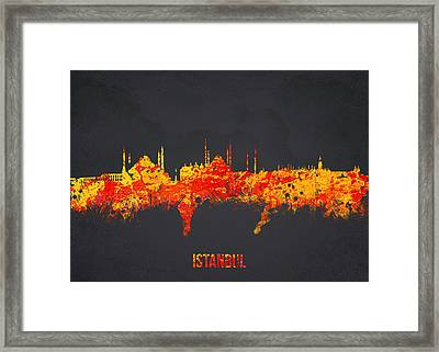Istanbul Turkey Framed Print by Aged Pixel