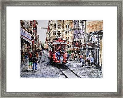 Istiklal Street Framed Print