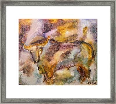 Istrian Bull -  Boshkarin Framed Print