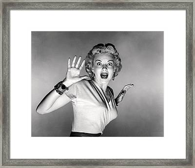 It Came From Outer Space  Framed Print by Silver Screen