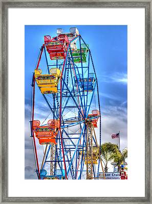 It Comes Full Circle Framed Print by Heidi Smith