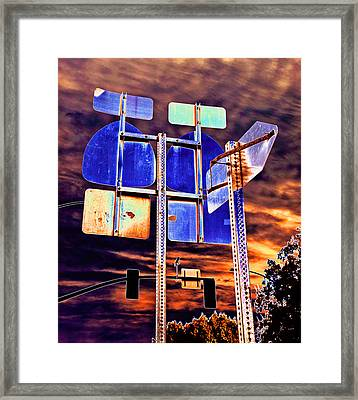 It Does Not Matter If I Miss You 2013 Framed Print by James Warren