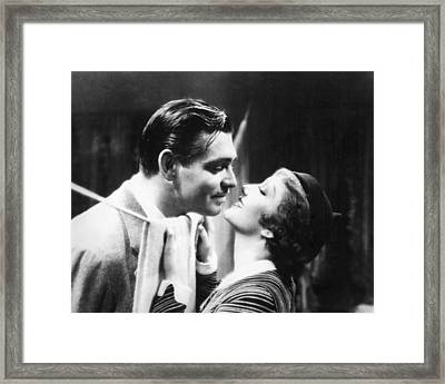It Happened One Night  Framed Print