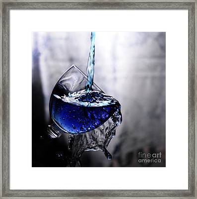 It Is Blue Framed Print by Randi Grace Nilsberg