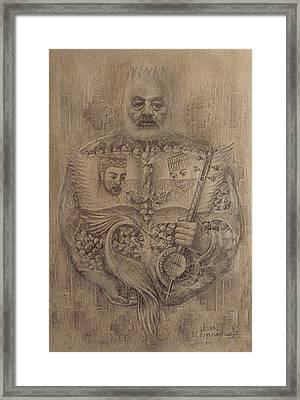 It Is Devoted To Great Paradzhanov Framed Print by Meruzhan Khachatryan