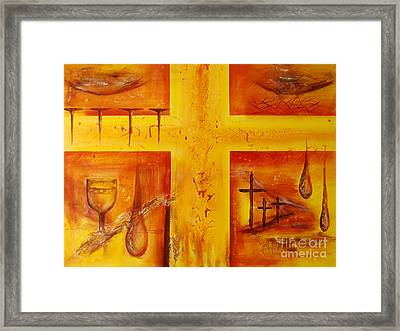 It Is Done Framed Print by Jocelyn Friis
