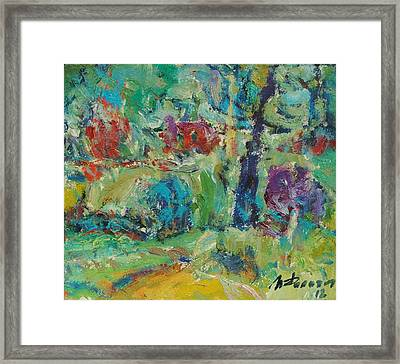 It Is Drizzling Framed Print by Ivan Filichev