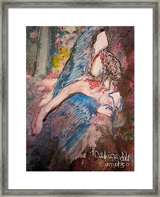 It Is Finished Framed Print by Deborah Nell