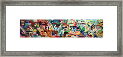 It Is Fitting To Feel The Pain Of Others Framed Print by David Baruch Wolk