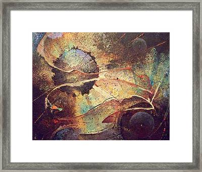 It Is It Is Not Framed Print by Fred Wellner