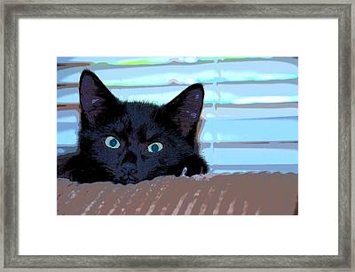 It Is Me Framed Print