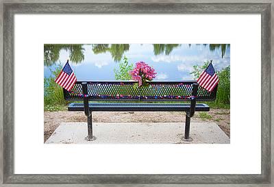 It Is My Honor American Patriotic View Framed Print