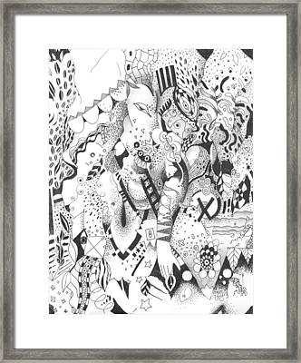 It Is Never Enough Framed Print by Helena Tiainen
