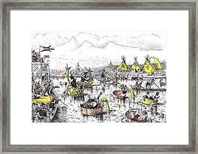 It Is Quite A Mistake To Suppose That Henley Regatta Framed Print