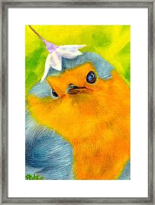 Tis Spring Framed Print