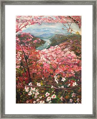 It Is Spring Everyday Framed Print by Belinda Low