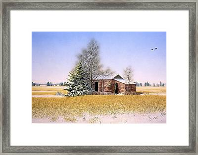 It Is Sunday Framed Print by Conrad Mieschke