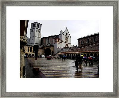 It Must Be Raining Framed Print