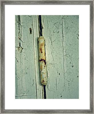 It Opens Slowly Framed Print by Odd Jeppesen