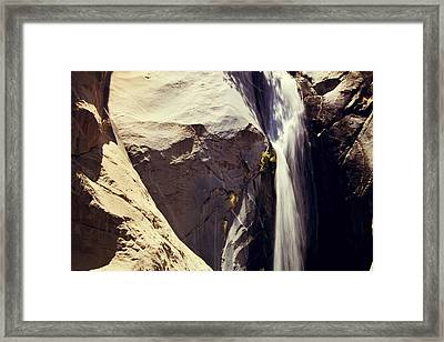 It Pours Down Framed Print by Laurie Search