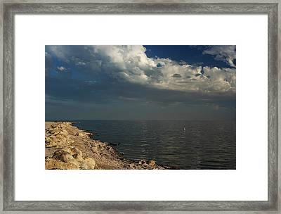 It Rolls Through Framed Print by Laurie Search
