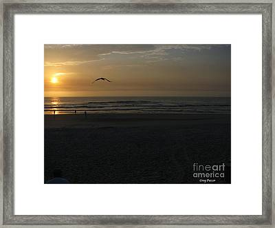 It Starts Framed Print by Greg Patzer