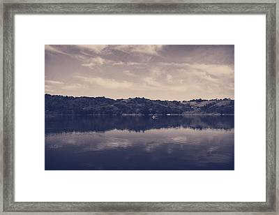 It Surrounds Me Framed Print by Laurie Search