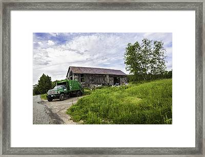 It Too Had A History Aka Sweet Chariot Framed Print by Madeline Ellis