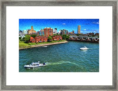 It Was A Perfect Day... Framed Print