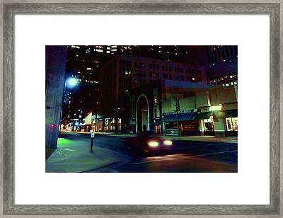 It Was About Wheels Framed Print