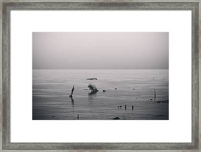 It Was Lonely There Framed Print by Laurie Search