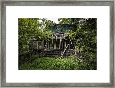 It Was Once Christmas Here Framed Print by Gary Heller